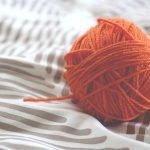 Ball of Orange Yarn